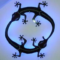 Geccospirit – Garten- und Wanddekoration aus Metall